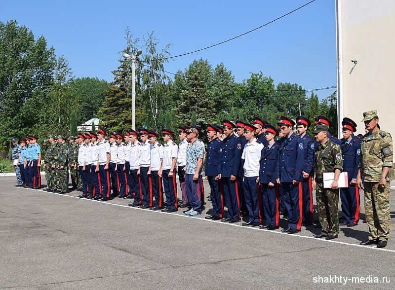 В Шахтах прошел областной этап всероссийской спартакиады среди кадетских казачьих учебных заведений (ФОТО, ВИДЕО)