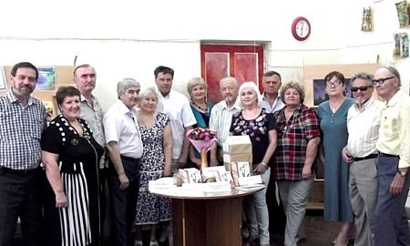 В Шахтинской центральной библиотеке донские писатели провели презентацию альманаха
