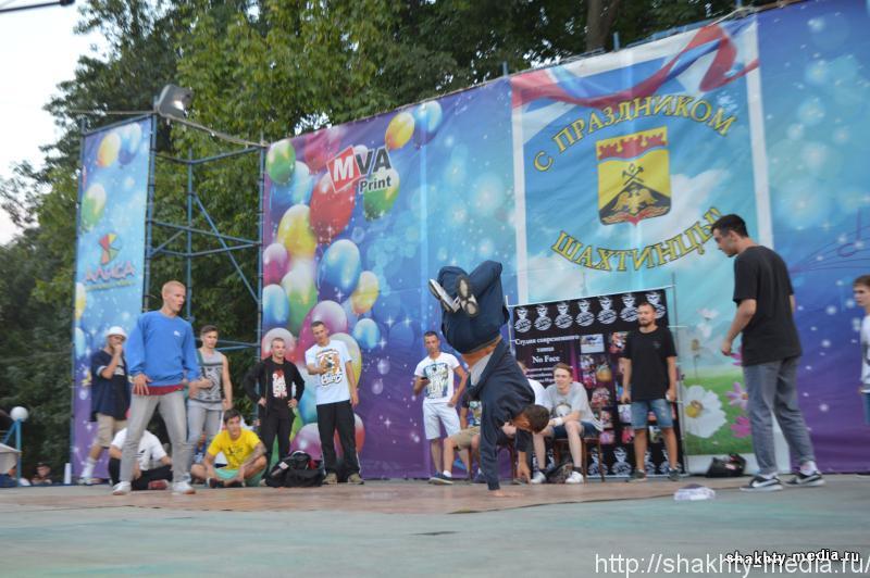 Уличные танцоры сразились на областном фестивале в г. Шахты