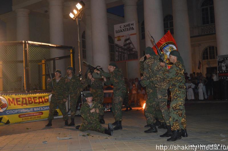 Спецназовцы стреляли на вечере боевых искусств в г. Шахты
