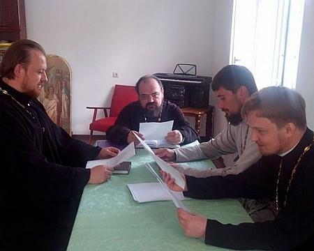 В Никольском храме прошло заседание шахтинской епархиальной комиссии по канонизации святых