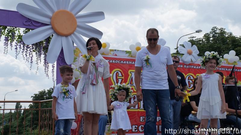 На Соборной площади города Шахты выбрали лучшую семью