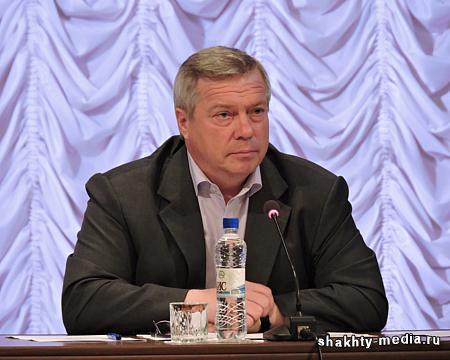 Василий Голубев поблагодарил «золотых» и «серебряных» спортсменов Дона