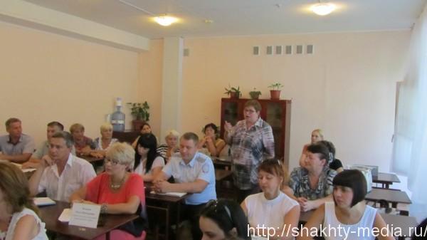 Информационная группа встретилась с жителями поселка Красина г.Шахты