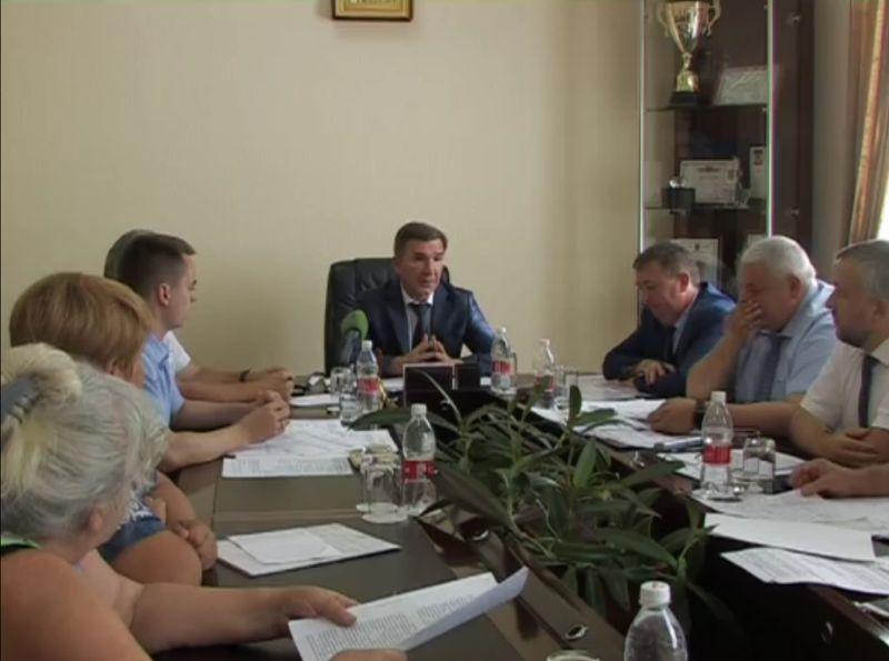 Первый заместитель губернатора Дона Игорь Гуськов встретился с шахтинцами