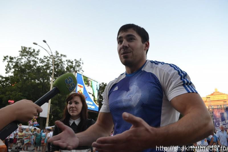 Дмитрий Троянов во второй раз стал самым сильным человеком в городе