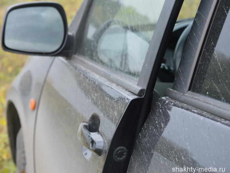 В Шахтах разыскивают свидетелей угона автомобиля на улице Маяковского