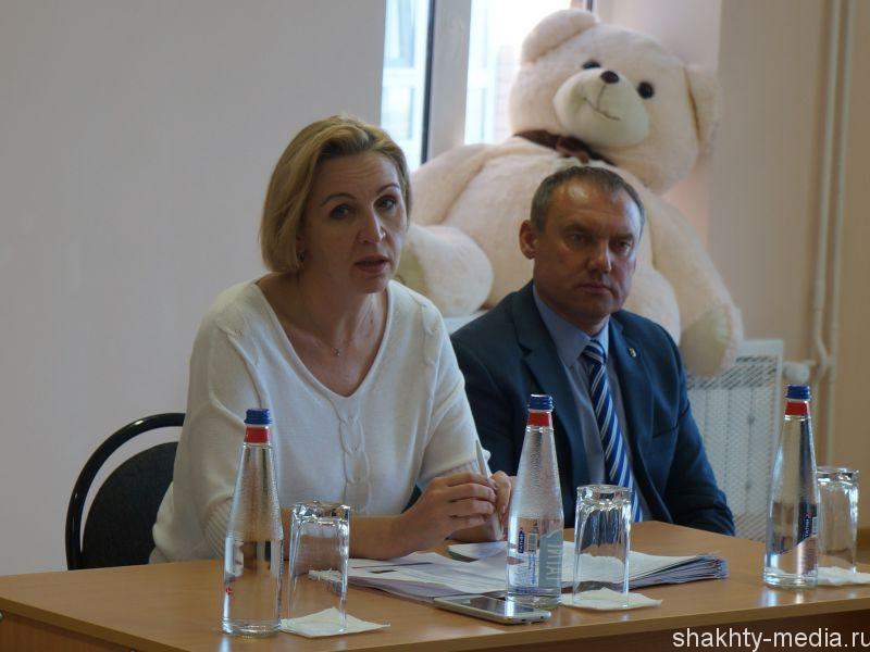Министр образования Дона Лариса Балина посетила детский сад №2 г. Шахты