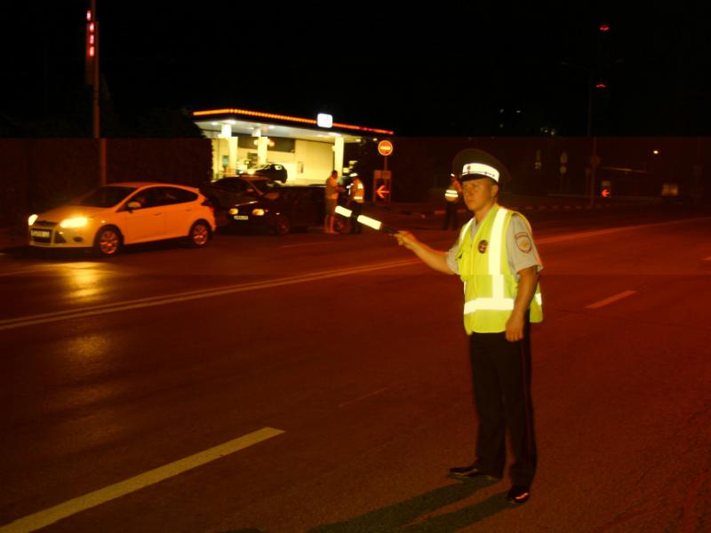 Недалеко от Шахт задержан скрывшийся с места аварии водитель
