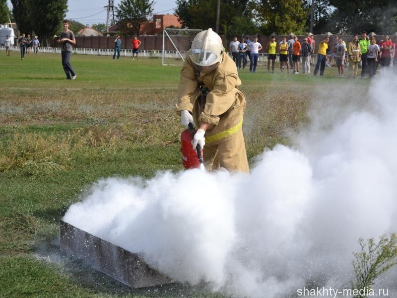 В Шахтах завершился турнир по пожарно-прикладному спорту