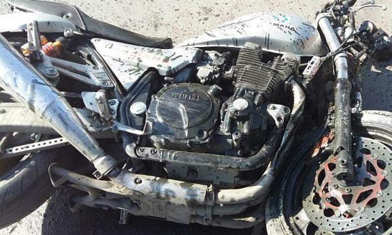 Мотоциклиста сбили на улице Советской г.Шахты