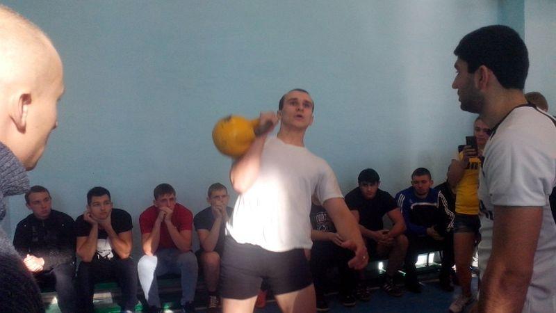 Студенты Шахтинского политехнического колледжа вновь лучшие в гиревом спорте