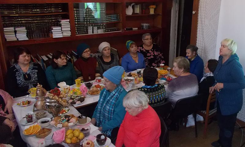 В клубе «Собеседушки» прошла встреча «Чай – здоровью лучший друг»