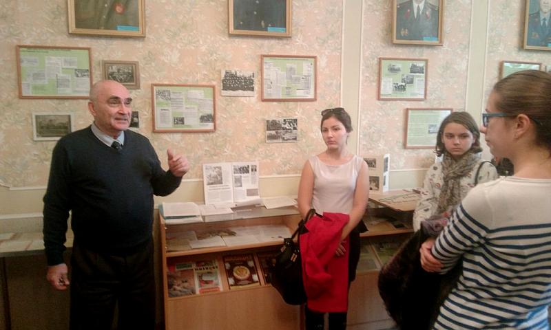 Экскурсия в музей милиции