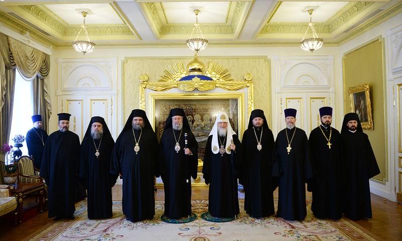 Епископ Шахтинский и Миллеровский Симон принял участие во встрече Святейшего Патриарха Кирилла