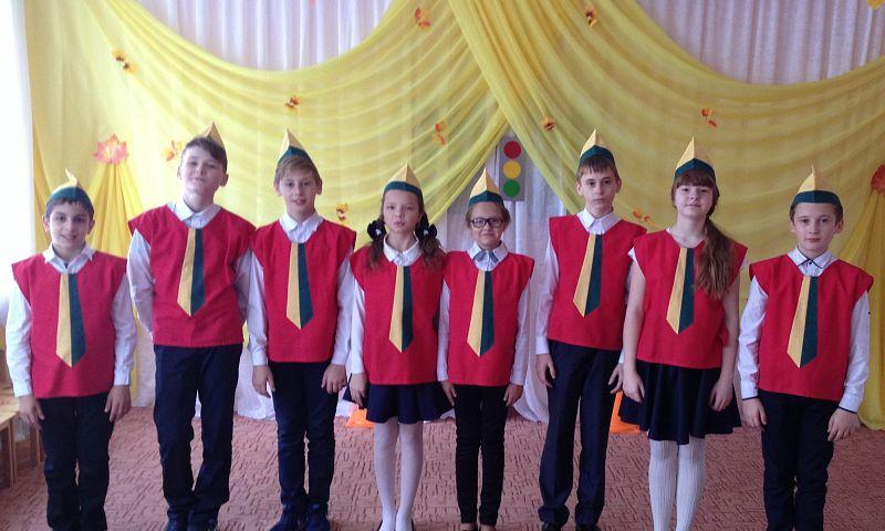 Юные инспектора движения школы № 21 побывали в гостях в подшефном детском саду