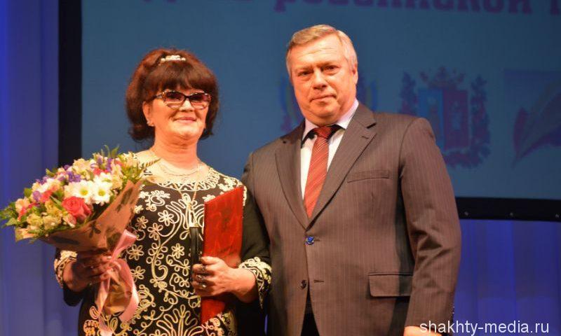 Губернатор Ростовской области Василий Голубев поздравил журналистов с Днем российской печати