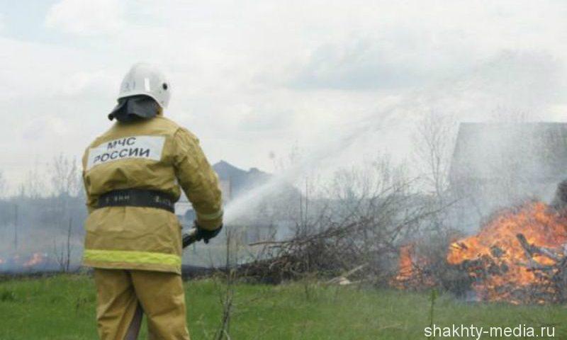 В городе Шахты снизилось количество пожаров