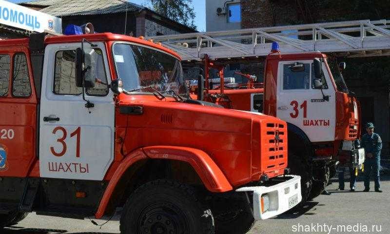 В Шахтах в частном доме произошло возгорание