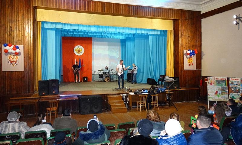 День защитника Отечества шахтинцы отметили в клубе им.Л.Красина