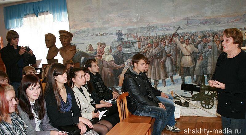 Краеведческий музей готовится отметить День освобождения города Шахты