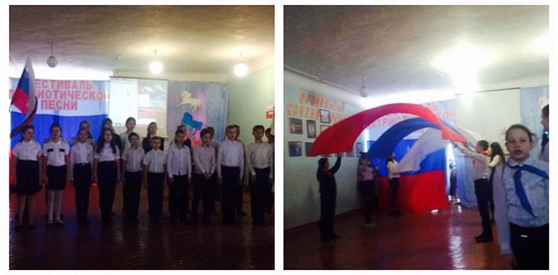В школе №12 прошел фестиваль патриотической песни «России верные сыны», посвященный Дню защитника Отечества