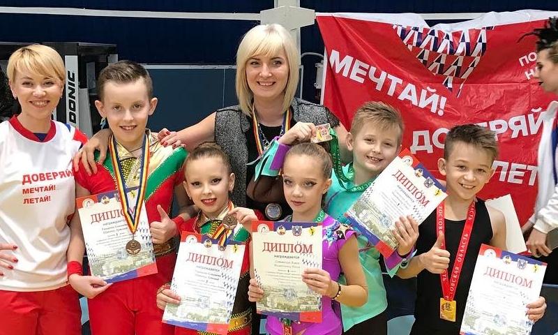 Шахтинцы стали призерами чемпионата и первенства Ростовской области по акробатическому рок-н-роллу