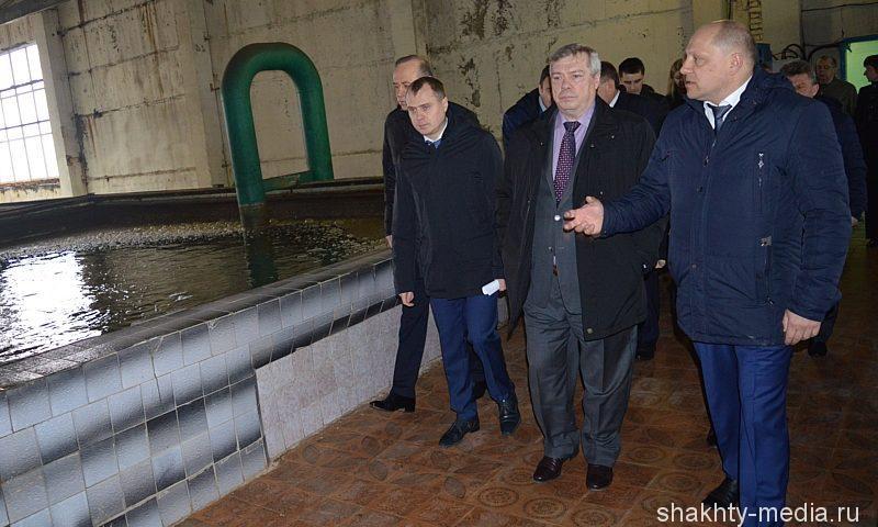 Около 600 млн рублей направит Ростовская область на реконструкцию Шахтинско-Донского водовода
