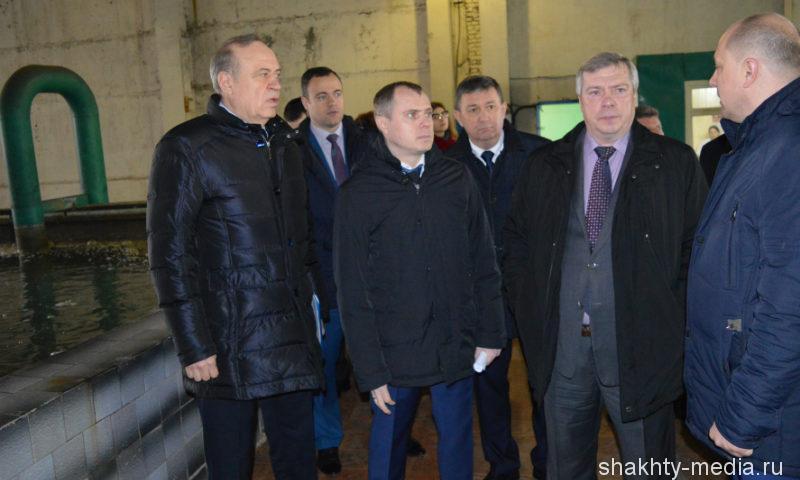 Губернатор Ростовской области провел рабочее совещание в г.Шахты