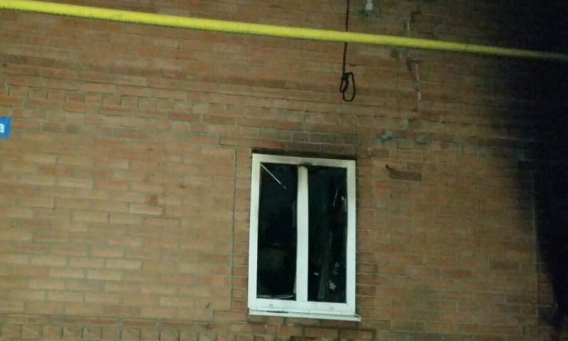 В Шахтах на улице Ленина в пожаре погибла хозяйка дома