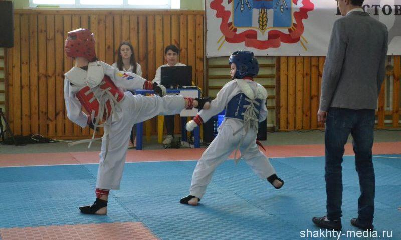 В Шахтах тхэквондисты сразились за первенство в соревнованиях, посвященных Дню защитника Отечества