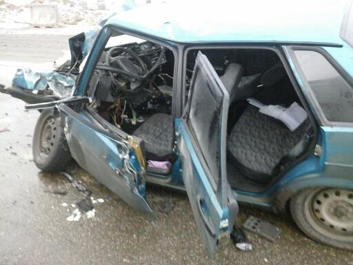На трассе Шахты – Цимлянск перевернулся автомобиль