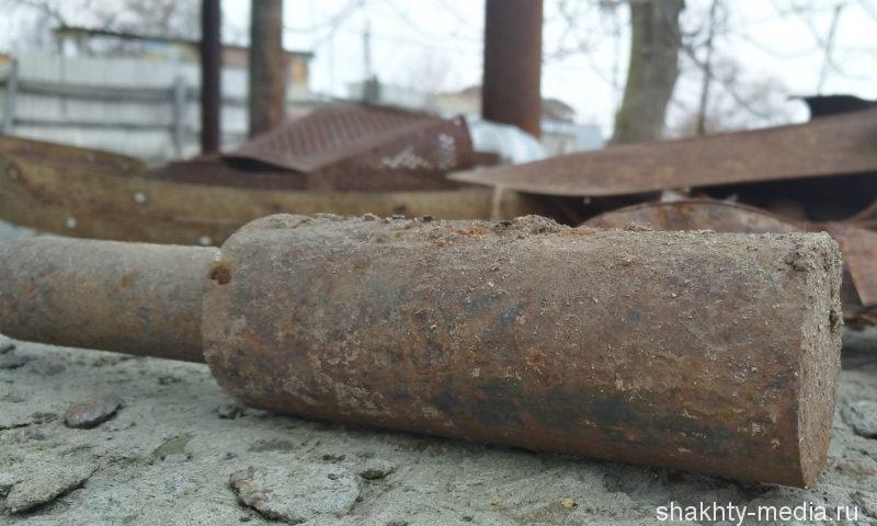 На Дону при строительстве гидроузла обнаружены боеприпасы времен Великой Отечественной войны