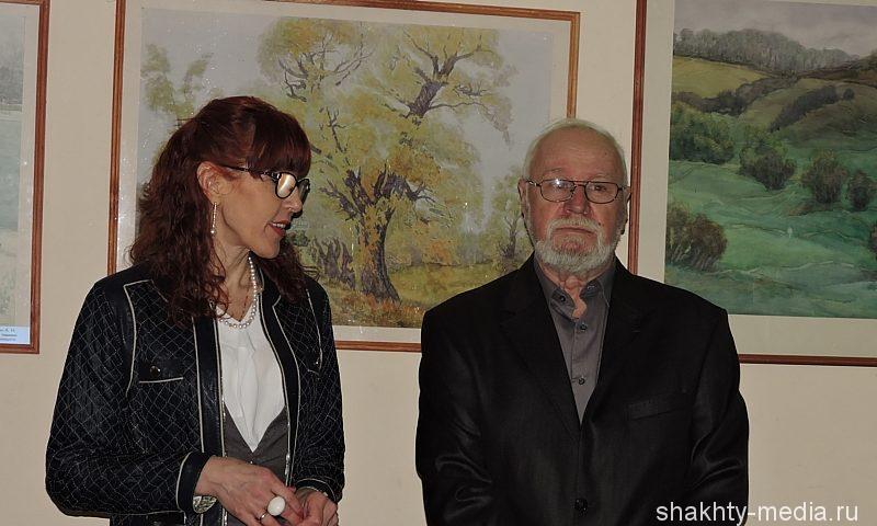 Художник Алексей Шейкин отпраздновал свой юбилей открытием персональной выставки