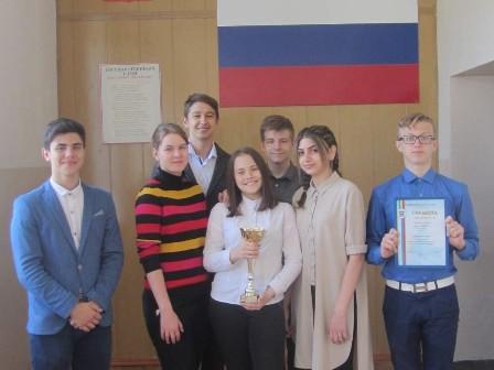 Шахтинские школьники заняли первое место в областном конкурсе