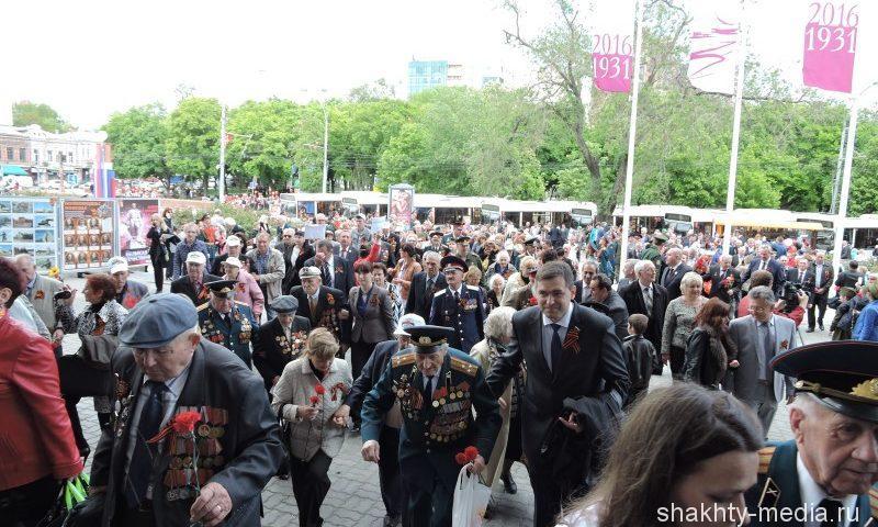 40 000 жителей Ростовской области получат поздравления с Днем Победы от Президента России