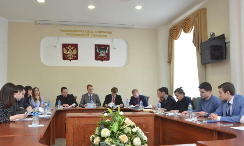 Молодежь Ростовской области направила свои предложения на парламентские слушания в Государственную Думу