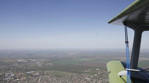 Шахтинцы посмотрели на город с высоты птичьего полета