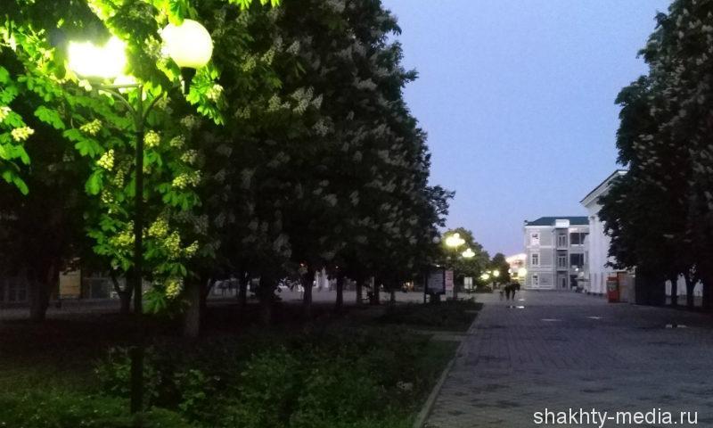 На реконструкцию наружного освещения города Шахты предусмотрено около 70 млн рублей