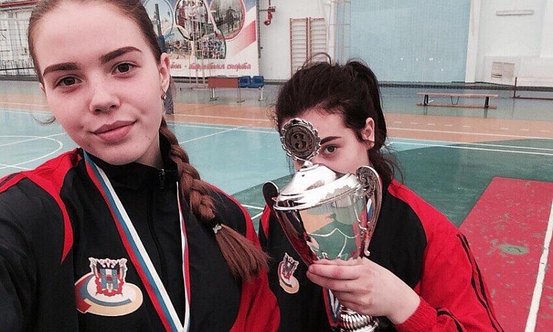 Волейболистки Ростовской области заняли третье место в окружном этапе соревнований