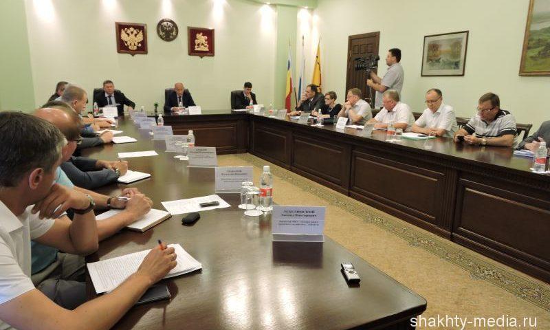 Итоги выездной инфогруппы Правительства РО подвели на  совещании в администрации г. Шахты
