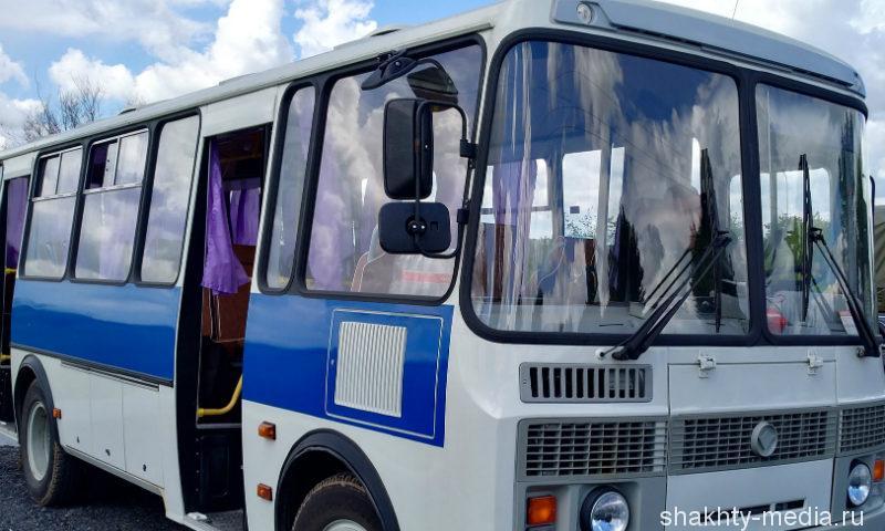 Недалеко от города Шахты угнали автобус