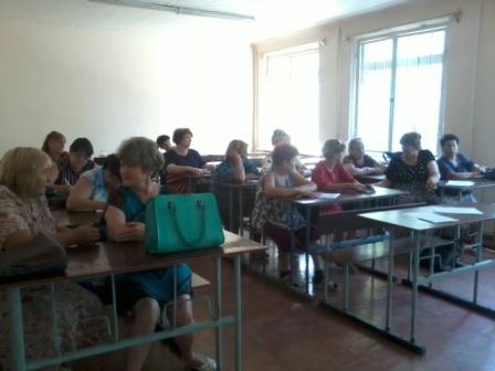 В Шахтах прошла встреча с административными участковыми в Артемовском территориальном отделе