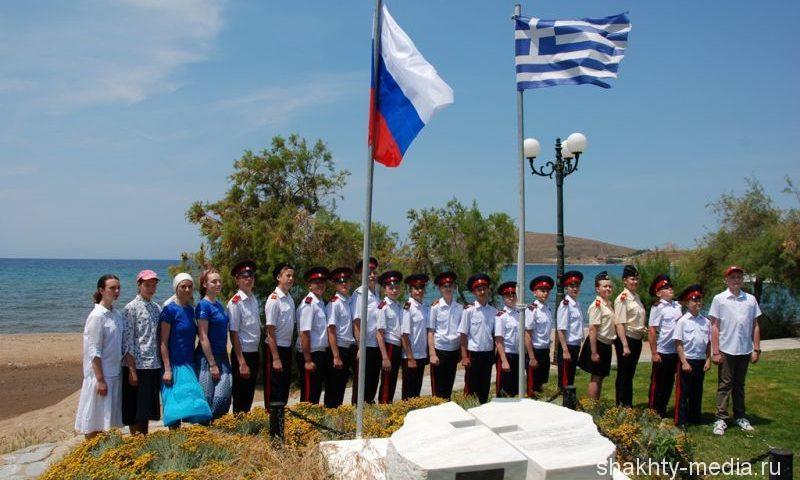 Донские кадеты побывали в Военно-историческом лагере на острове Лемнос