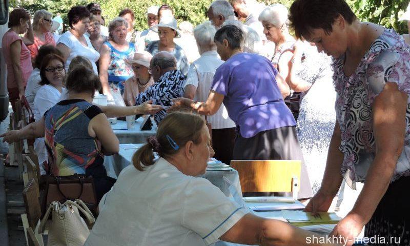 На площади Ленина г. Шахты прошла очередная акция «Тихий Дон — здоровье в каждый дом»