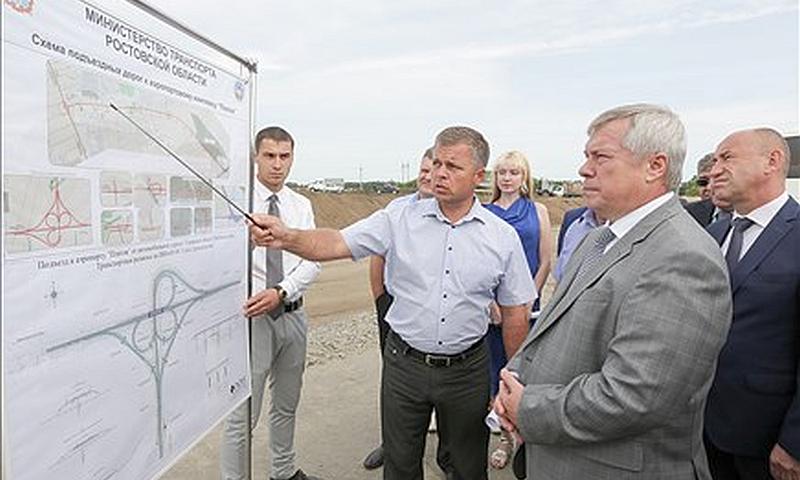 Дороги к аэропорту «Платов» введут в строй вовремя