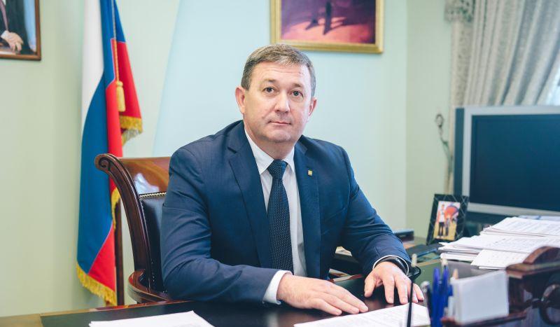 Новогоднее поздравление Главы Администрации г.Шахты Игоря Медведева