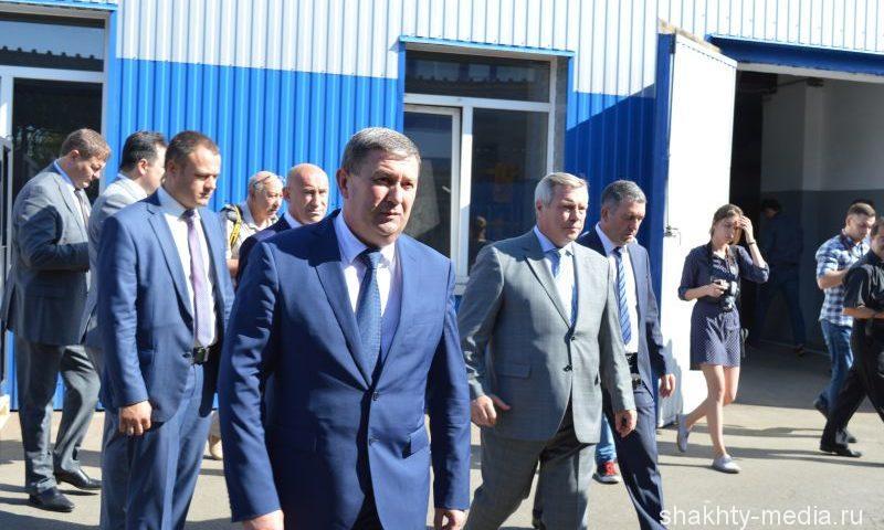 Губернатор Ростовской области Василий Голубев посетил с рабочим визитом г. Шахты