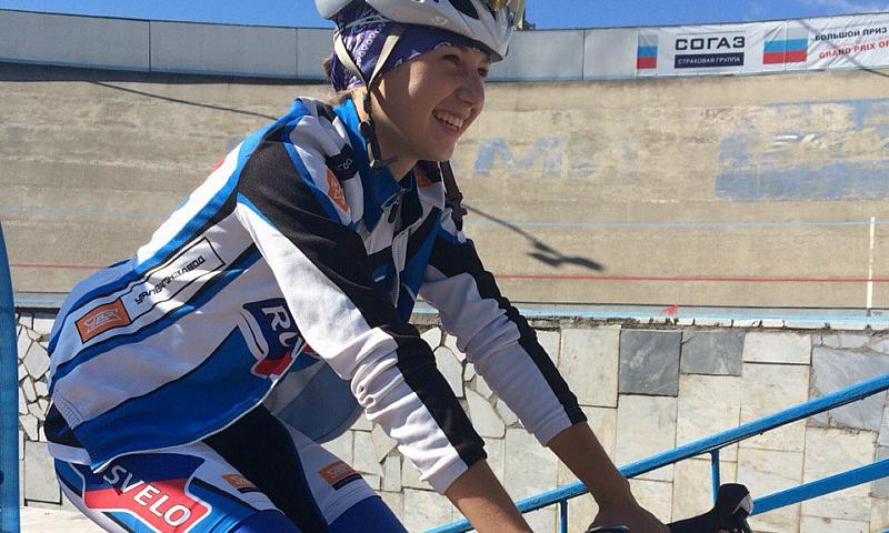 Велогонщица из Шахт показала лучший результат