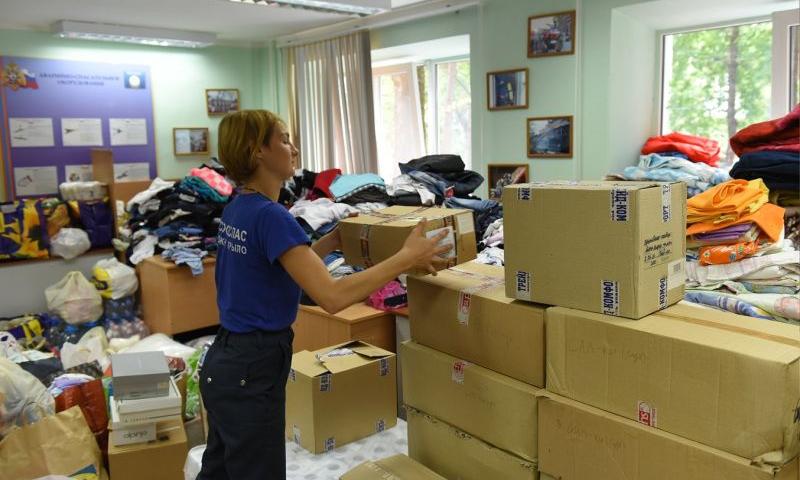 В ДГТУ открыт пункт сбора гуманитарной помощи ростовчанам, пострадавшим от пожара